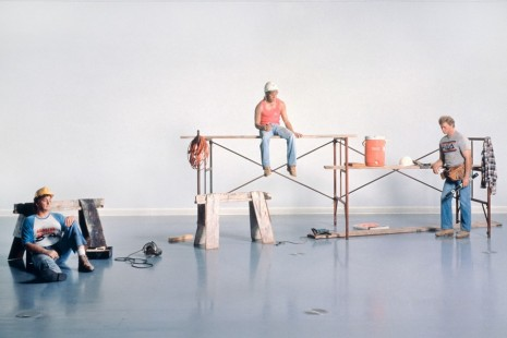 Thomas Demand, Andreas Gursky, Duane Hanson, Sharon Lockhart, Jeff Wall, I Don't Like Fiction, I Like History, Gagosian