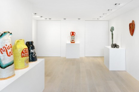 Group show, Fire and Clay, Gagosian