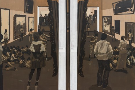 Kerry James Marshall, History of Painting, David Zwirner