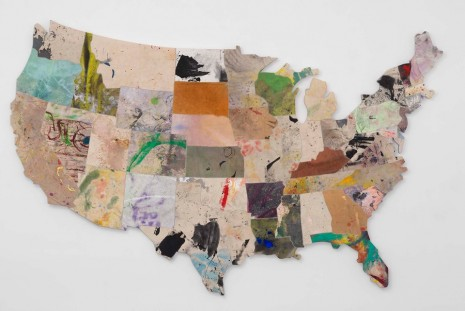 Nate Lowman, Never Remember, Gagosian