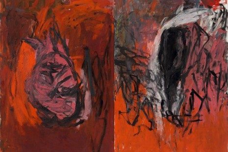 Georg Baselitz, A FOCUS ON THE 1980s, Galerie Thaddaeus Ropac