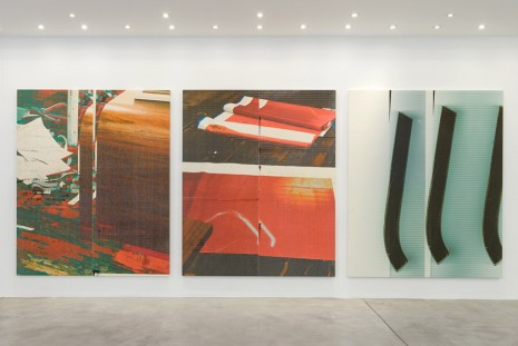 Wade Guyton, Patagonia 2, Galerie Gisela Capitain