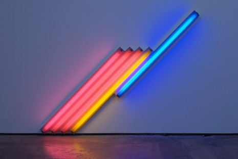 Dan Flavin, 14 neon sculptures from '60s to '90s., Cardi Gallery