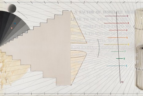 Arakawa, Diagrams for the Imagination, Gagosian
