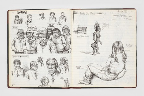 R. Crumb, Drawing for Print: Mind Fucks, Kultur Klashes, Pulp Fiction & Pulp Fact by the Illustrious R. Crumb, David Zwirner