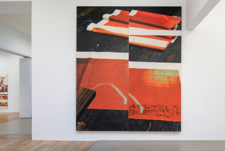 Wade Guyton, Natural Wine, Galerie Chantal Crousel