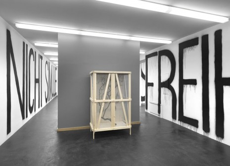 Rirkrit Tiravanija, untitled, 2012 (freedom can not be simulated), neugerriemschneider
