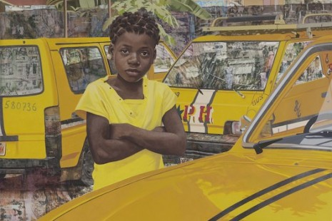 "Njideka Akunyili Crosby, ""The Beautyful Ones"", Victoria Miro Gallery"