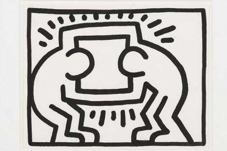 Keith Haring, Pop Shop Drawings, Gladstone Gallery