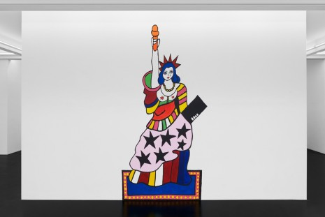 Dorothy Iannone, Lady Liberty Meets Her Match, Peres Projects