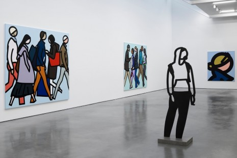 Julian Opie, , Lisson Gallery