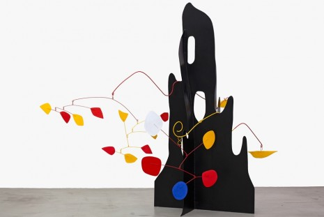 Alexander Calder, Vanuatu Figures, Calder Crags + Vanuatu Totems from the Collection of Wayne Heathcote, Venus Over Manhattan
