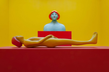 Nicolas Party, Polychrome, The Modern Institute