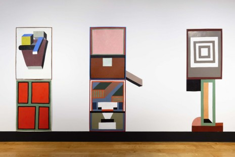 Nathalie Du Pasquier, As The Plane Was Reaching Cruising Altitude, Anton Kern Gallery