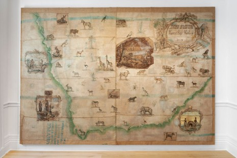 Vivienne Koorland, Berni Searle, Made Routes: Mapping and Making, Richard Saltoun Gallery