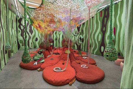 Ernesto Neto, Children of the Earth, Tanya Bonakdar Gallery